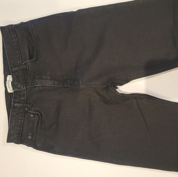 Zara black premium denim  size 6